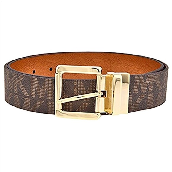 5130493b339bb 🌟New Authentic Mk logo belt brown🌟